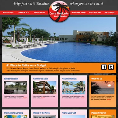 Realty website design