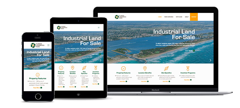 Website- Florida Commerce Park