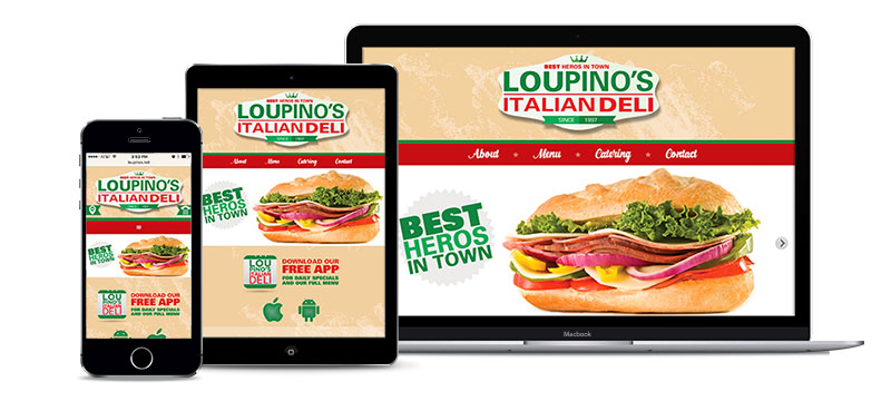 Website- Loupino's Italian Deli