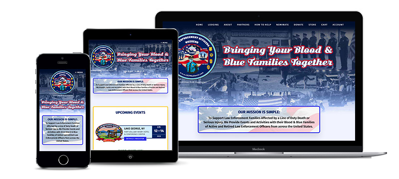 Website- Law Enforcement Officers Weekend